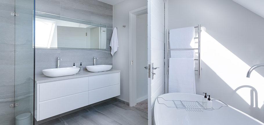 En badrumsrenovering höjer värdet på huset